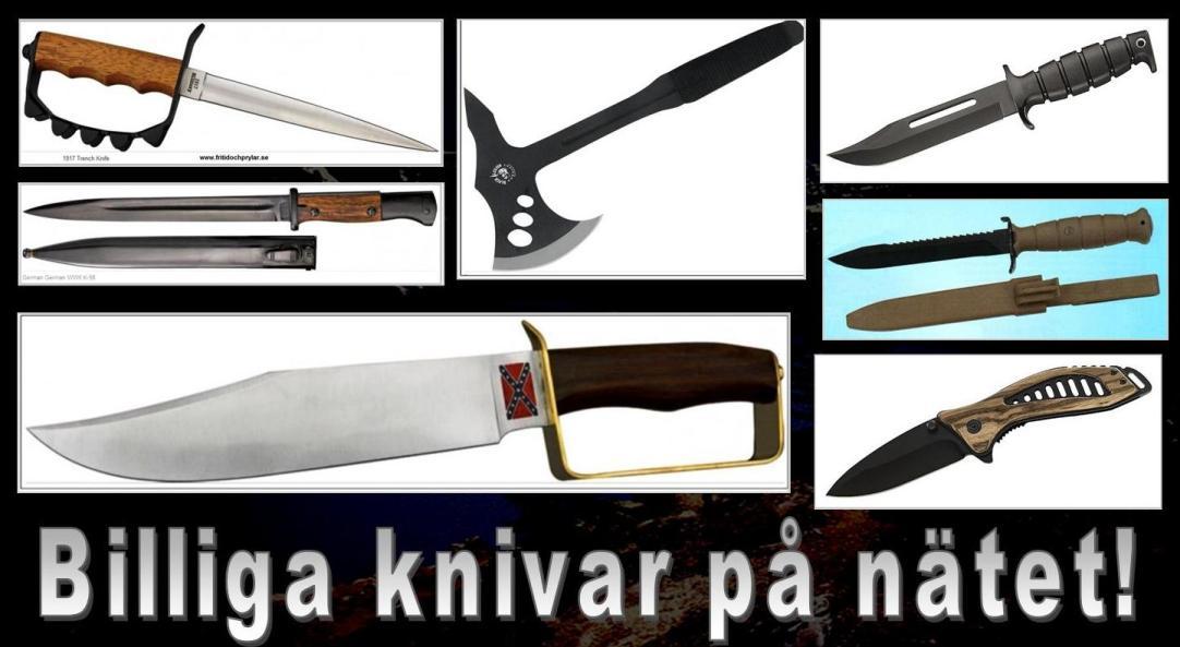 Köpa Knivar Online, Billiga Knivar På Nätet, Knivbutik På Nätet, Knivbutik Malmö